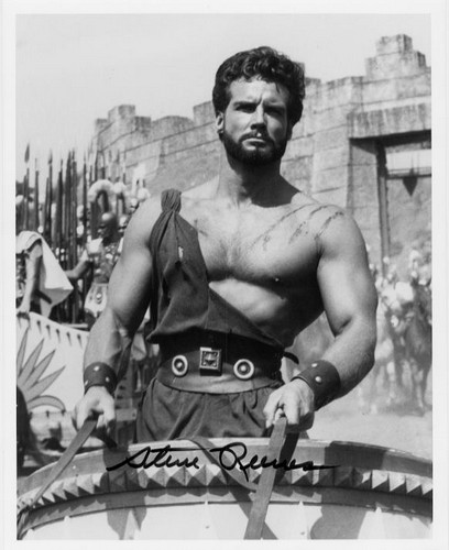 Reeves, Steve (1926- ) - Hecules,  former Mr World & Mr Universe
